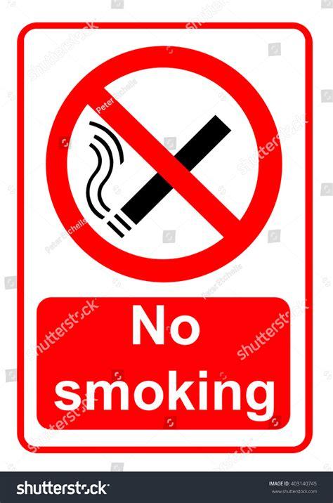 no smoking sign on mac startup no smoking sign stock illustration 403140745 shutterstock