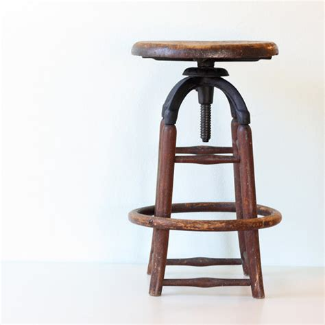 where to find bar stools vintage industrial wooden stool by bellalulu vintage