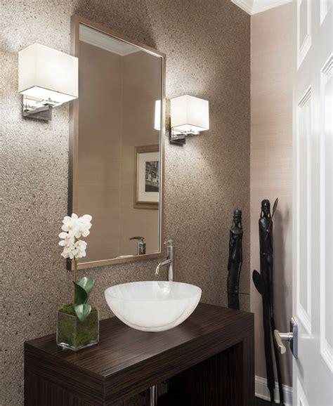 Ct Residence Modern Powder Room New York By Susan | ct residence modern powder room new york by susan