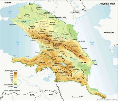 map of south russia south caucasus maps eurasian geopolitics