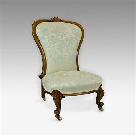 walnut victorian nursing chair johncowderoyantiques co uk