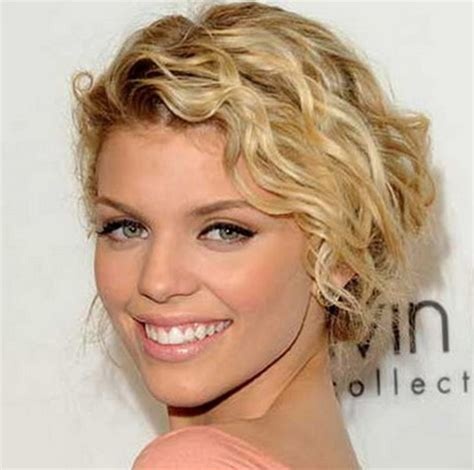 summer perms hairstyles for short permed hair