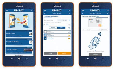 bilancio ubi scarica l app uby pay e vinci un lumia 535 al giorno