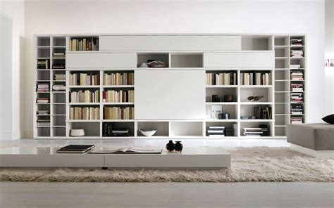 contemporary bookshelves designs cool home interior book storage within cool library room