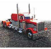 Rides Homemade Peterbilt Show Truck July 2012 RC Car Action