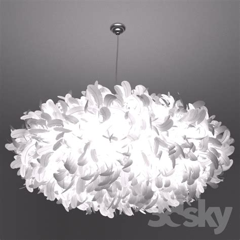 feather lights 3d models ceiling light feather l