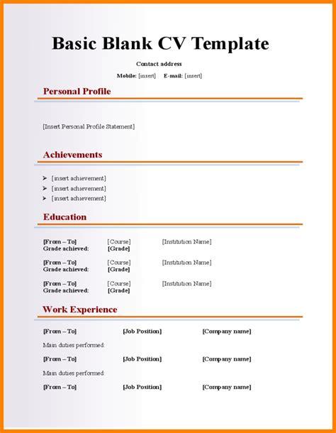 13 plain resume templates professional resume list