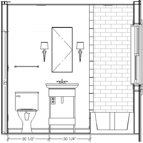 bathroom drawings 8 best images about interior elevations on