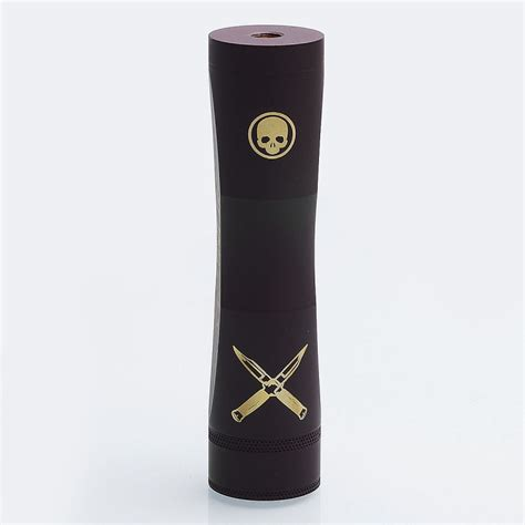 Pyra Stacked Mech Brass Ss Authentic By Rnv buy able xl stacked style extended hybrid mechanical mod black brass 2 x 18650 at 3fvape