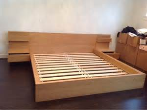 Ikea Malm King Bed Frame Ikea Malm Bed Frame With Nightstand Furniture Design Blogmetro