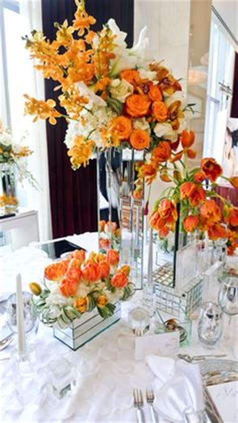 wedding flowers orange county california 2 great color combination turquoise orange wedding