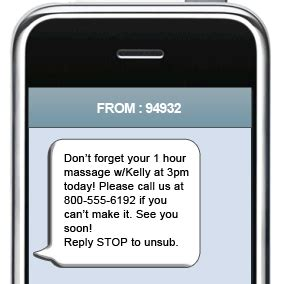 text message marketing for spa and salon chicago sms