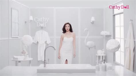 Ready 2 White 2 In 1 Mousse Cleanser Cathy Doll โฆษณา cathy doll ready 2 white 2in1 mousse cleanser