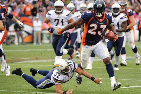 broncos chargers 2012 denver broncos at san diego chargers open thread mile