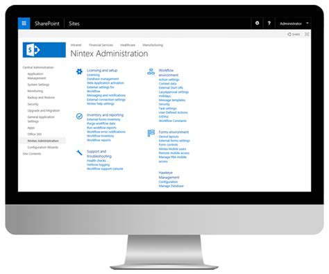 sharepoint workflow demo connect content data systems with nintex workflow