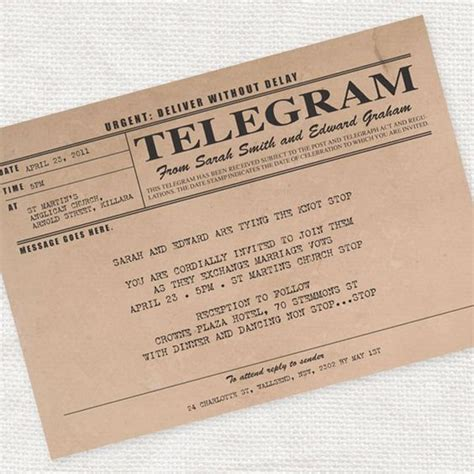 Telegram Template Free by The World S Catalog Of Ideas