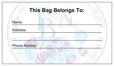 free printable luggage id tags diy vista print luggage tags bachelorette party invites