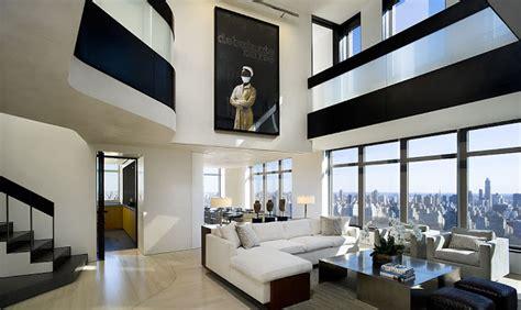 Metropolitan Condo Floor Plan Modern Central Park West Penthouse Duplex In Manhattan