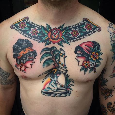 tattoo chest traditional 1241 best oldschool traditional tattoos олдскул тату