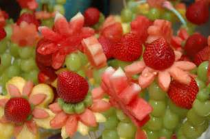 foodspiration baby shower food ideas fruity flowers savory salads and panini