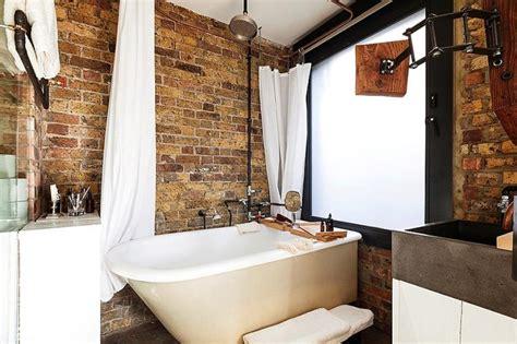 Bathroom Brick Wall by 20 Dashingly Bathroom Designs With Exposed