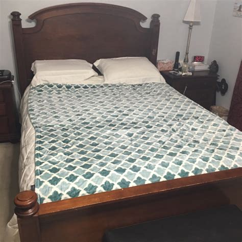 Sleep Number Bed Frame Size Sleep Number Mattress Cherry Bed Frame For Sale Or Trade Metro Atlanta Everything