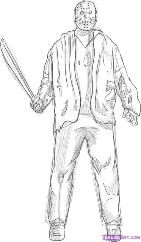 jason and michael myers coloring pages coloring pages