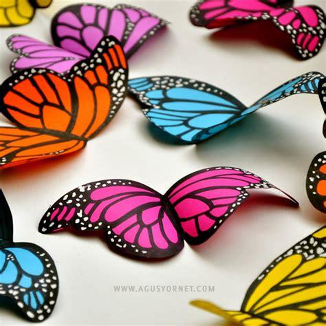 diy paper butterflies sturt general store