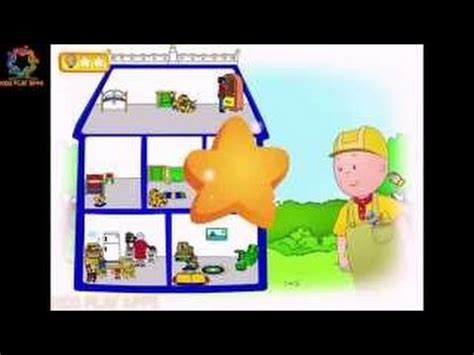 caillou doll house search result youtube video caillou gardening
