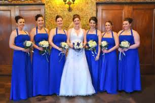 tbdress blog deep and classical royal blue wedding theme