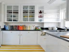 shelves in kitchen ideas open kitchen shelving
