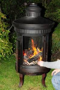 Garden Log Burner Quot Suiren Quot Wood Burner Pits Wood Burners Patio