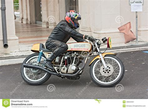 E Motorrad Rennen by Vintage Racing Motorcycle Ducati Editorial Photo Image