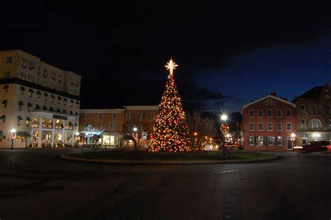gettysburg christmas tree lights 2011 gettysburg daily