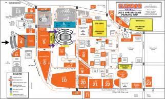 clemson football parking map my blog