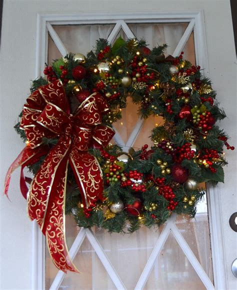 Handmade Door Wreaths - 15 alluring handmade wreath designs that will