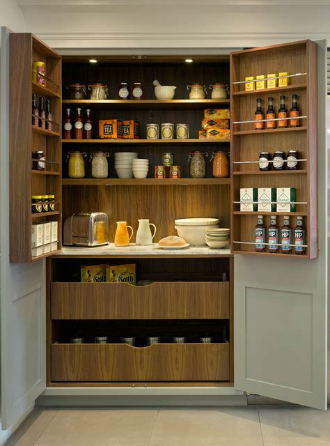 Larders And Pantries by Roundhouse Pantries Larders Transitional Kitchen By Roundhouse