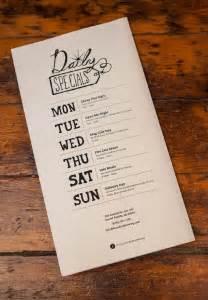 25 best ideas about restaurant menu design on