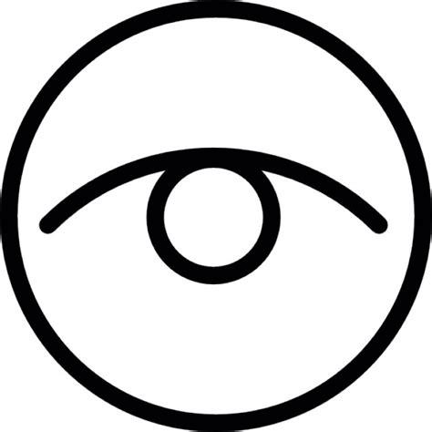vector gratis ojo ver icono imagen gratis en pixabay ojo en un c 237 rculo descargar iconos gratis