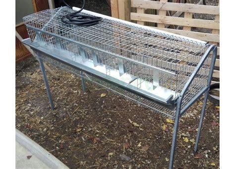 gabbia conigli ingrasso gabbie da ingrasso per conigli
