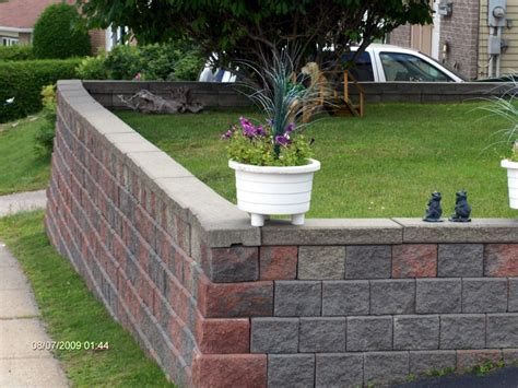 home designer pro retaining wall how to build a retaining wall the mortarless way