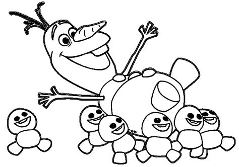 Free W Coloring Pages by Frozens Olaf Coloring Pages Best Coloring Pages For