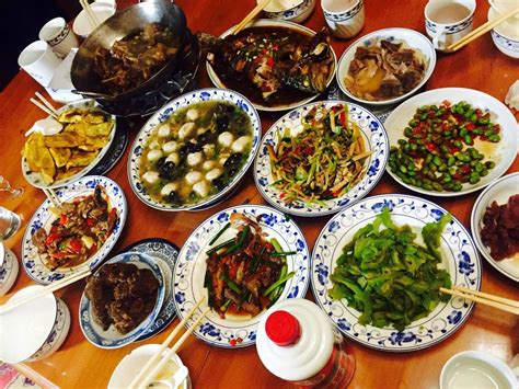 chinese new year is about family friends and food