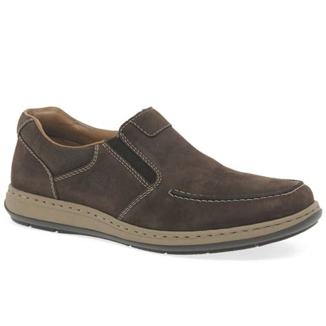 rieker verve mens casual slip on shoes from charles