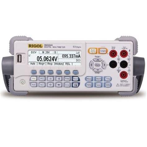 que banco es 3058 mult 237 metro digital de banco rigol dm3058e toolboom