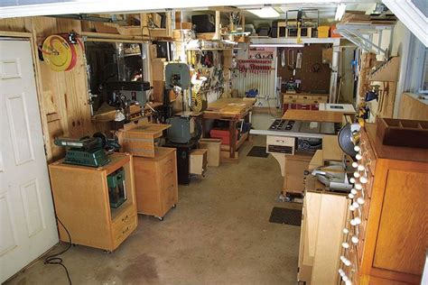 woodworking hobby projects small tidy shop   great