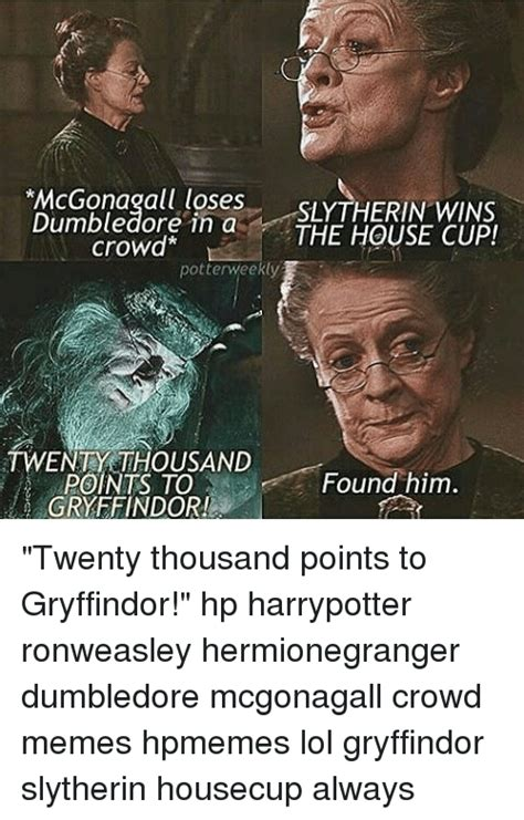 what house is dumbledore in dumbledore loses sltherin wins in a the house cup crowd potterweekly twenty thousand