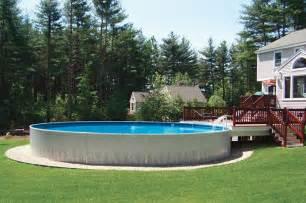 aboveground radiant metric  pool  deck incredible pools stock tank pool