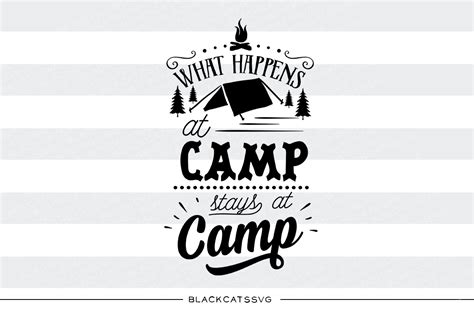 html business templates free download with css what happens at camp stays at camp svg by blackcatssvg