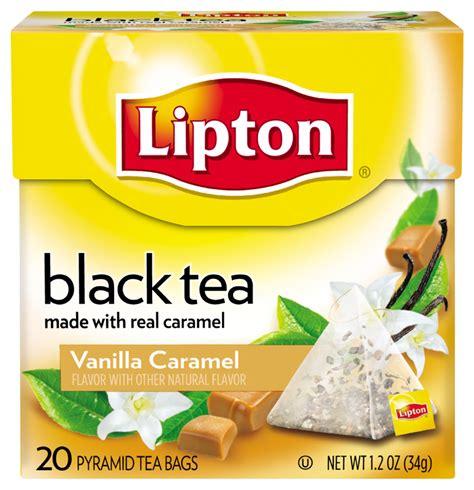 Black Tea With Vanilla For Detox by Lipton Black Tea Pyramids Bavarian